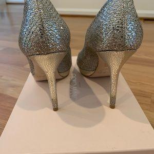 Jimmy Choo Shoes - Jimmy Choo Luna Peep Toe Pumps